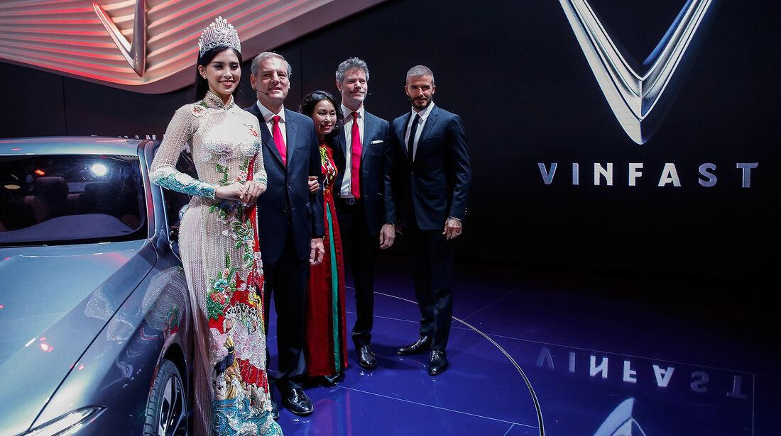 VinFast Lux A2.0, Paris 2018