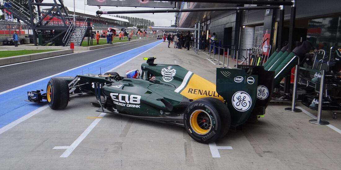 Vitaly Petrov Caterham GP England 2012
