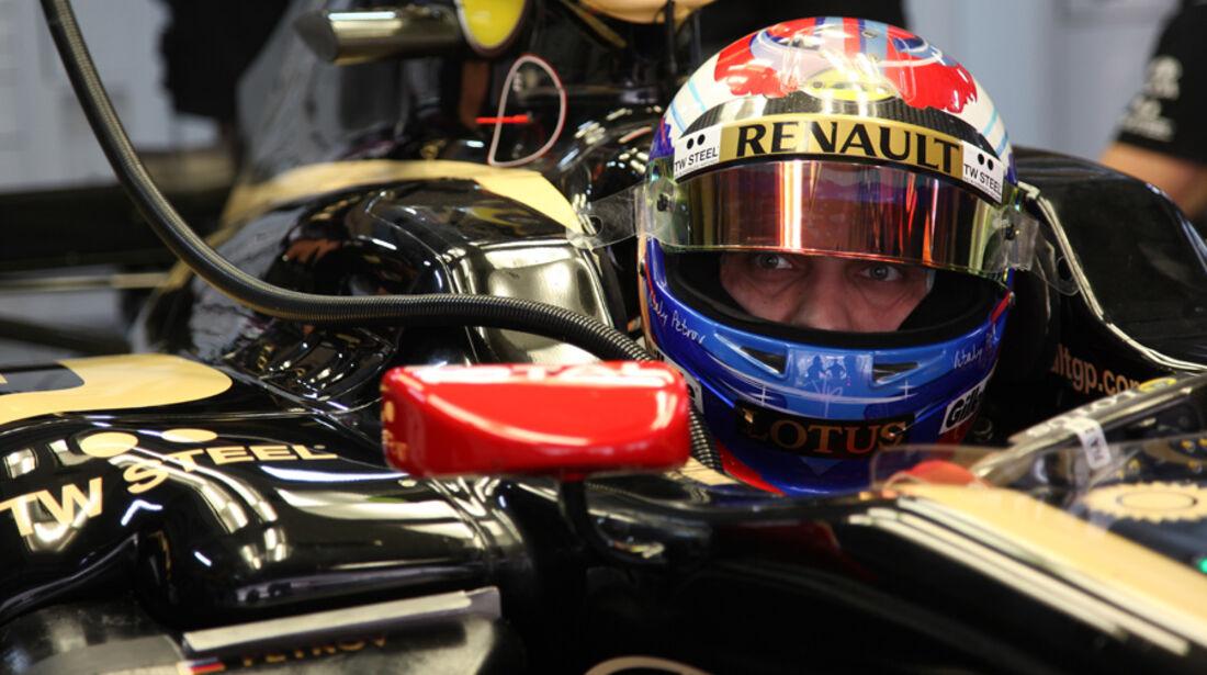 Vitaly Petrov - GP Indien - Training - 28.10.2011