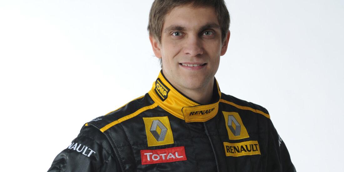 Vitaly Petrov Renault 2010