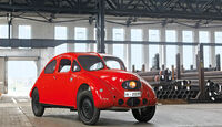 Volks-Wagen Prototyp, Frontansicht