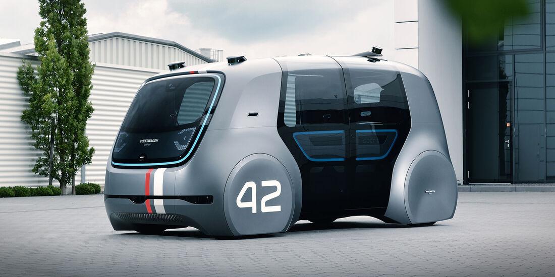 Volkswagen - Sedric - IAA - Studie - 2017