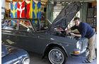 Volvo 164, Garage, Motorhaube, Heinz Vollmerhausen