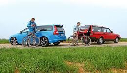 Volvo 240 Kombi, VolvoV70, Seitenansicht, Generationen