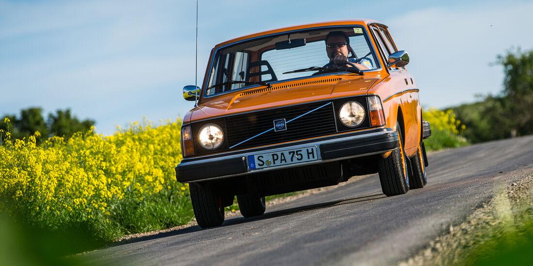 Volvo 245, Frontansicht