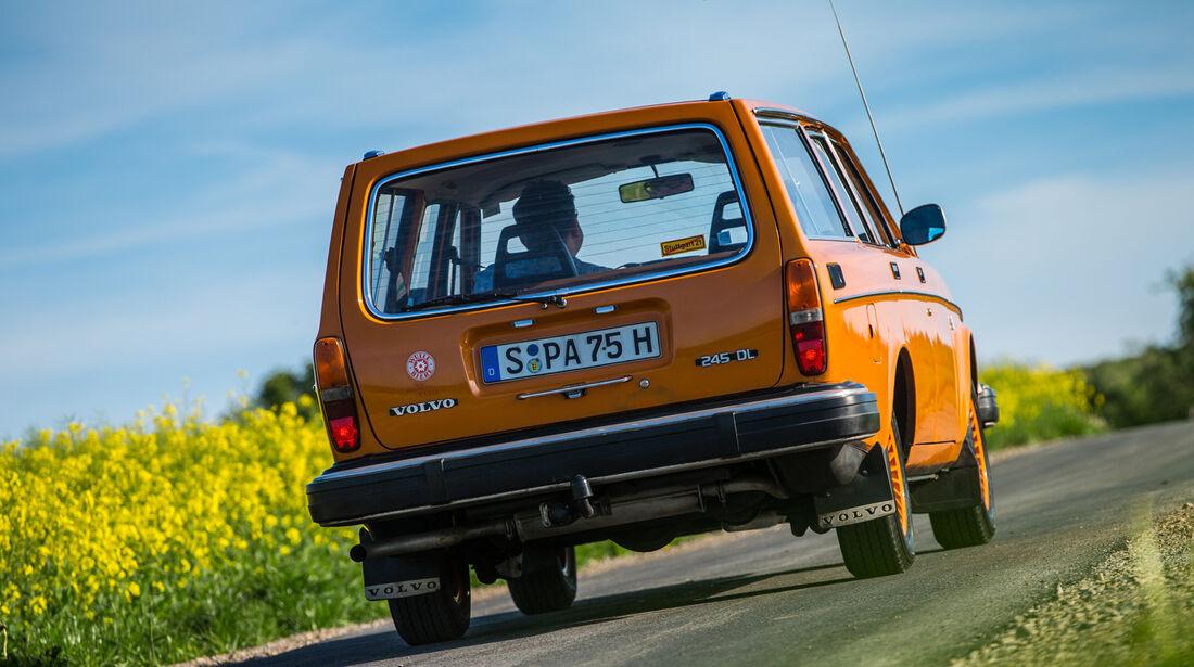 Volvo 245, Heckansicht