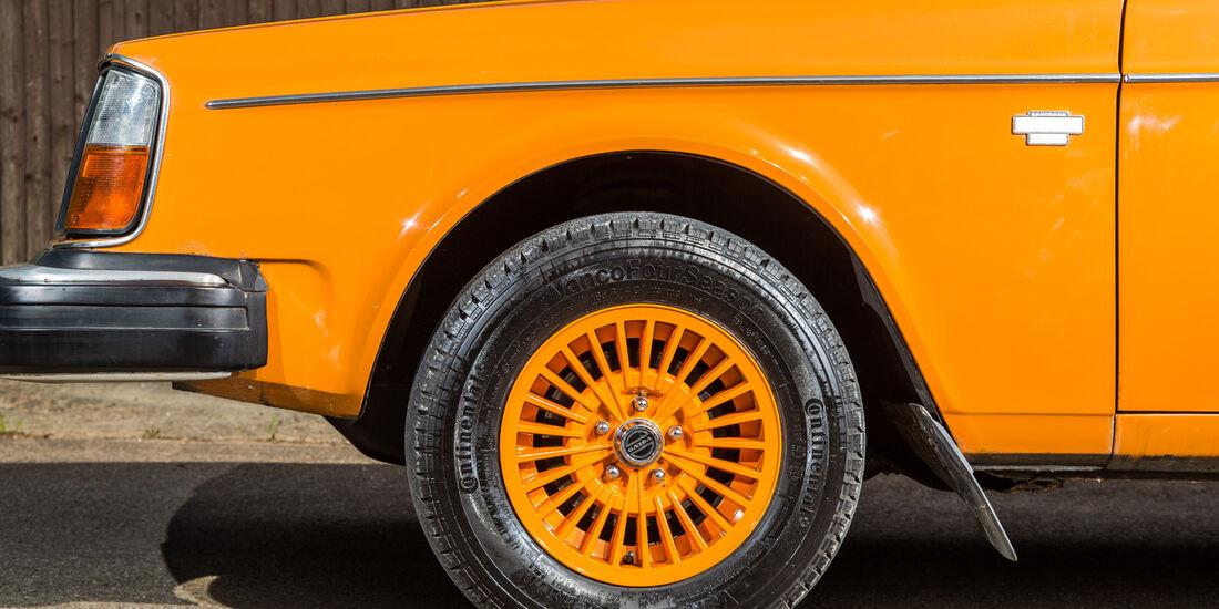 Volvo 245, Rad, Felge