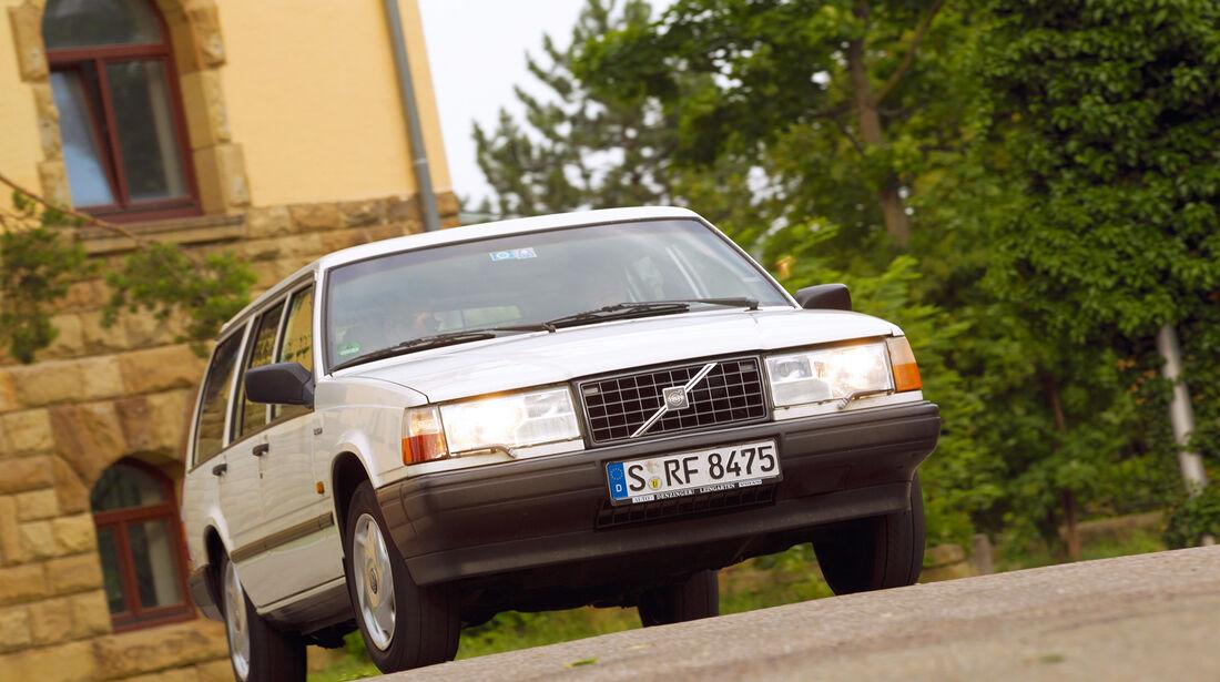 Volvo 740 GLT 16 V, Fontansicht