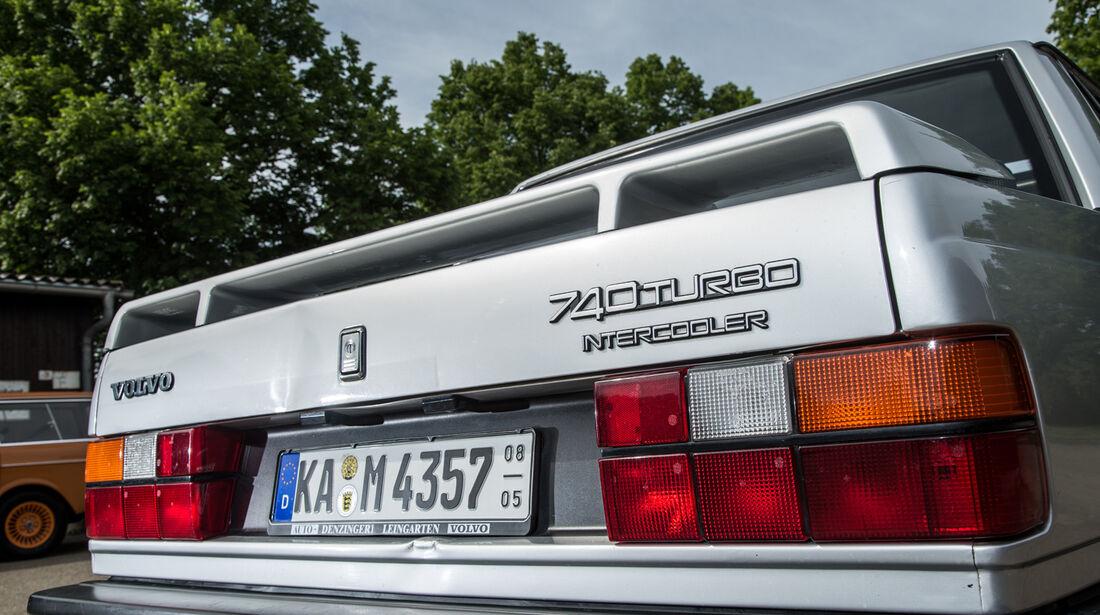 Volvo 740 Turbo Intercooler, Heck