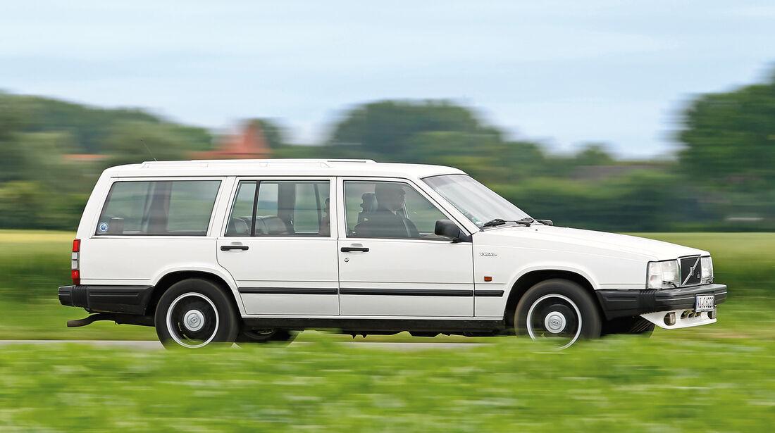 Volvo 740 und 760 Benziner, Seitenansicht