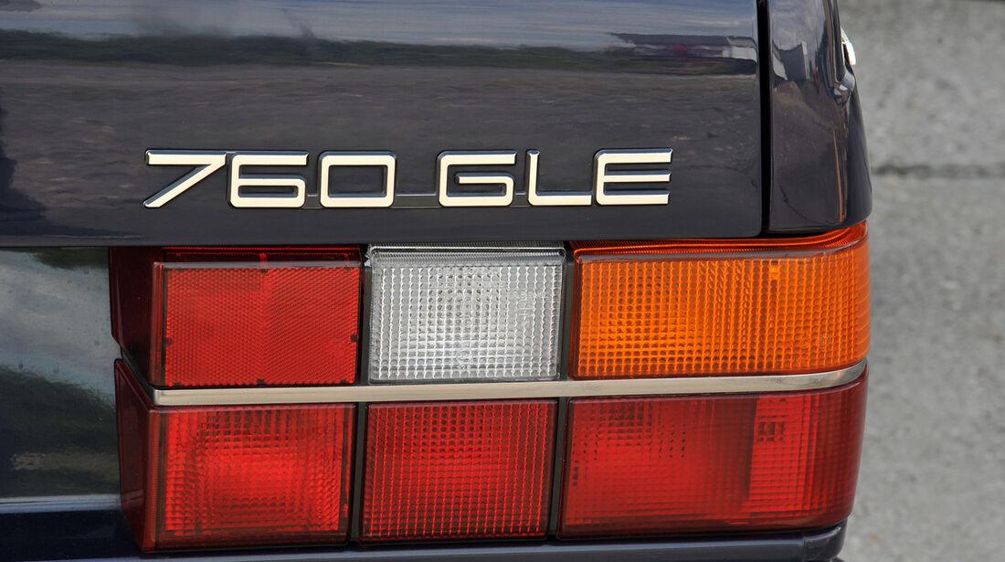 Volvo 760 GLE, Typenbezeichnung