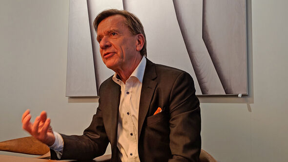 Volvo-Chef Håkan Samuelsson