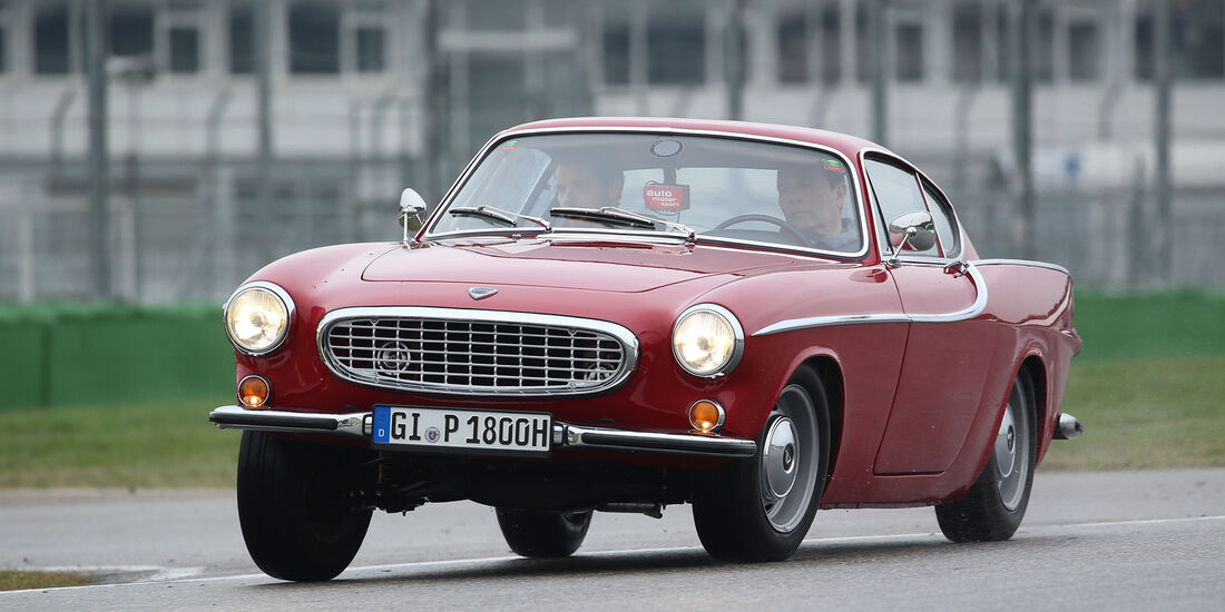 Volvo P1800 S, Front