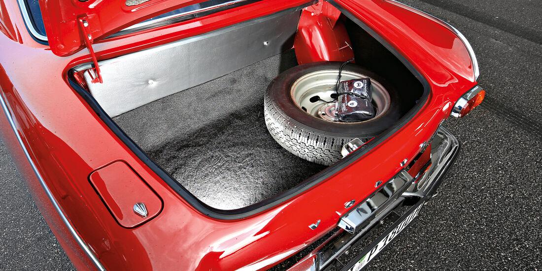 Volvo P1800 S, Kofferraum