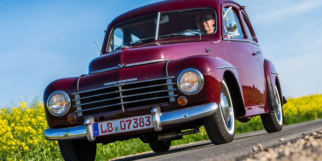 Volvo PV 444 E/ES, Frontansicht