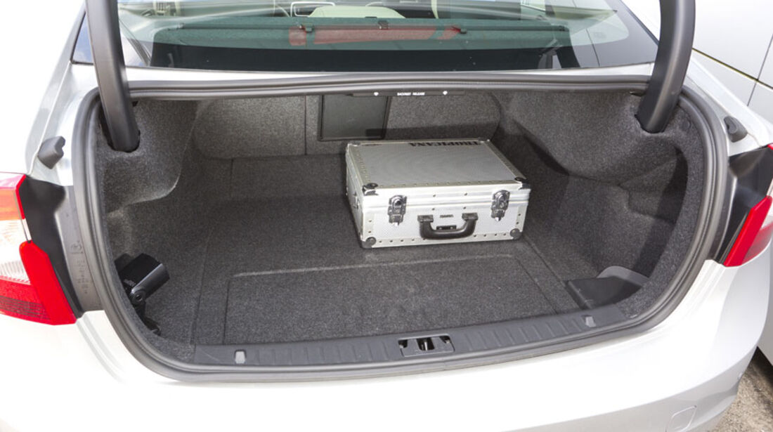 Volvo S60 D3, Kofferraum