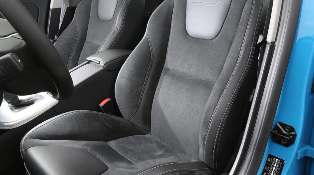 Volvo S60 T6 Polestar, Fahrersitz