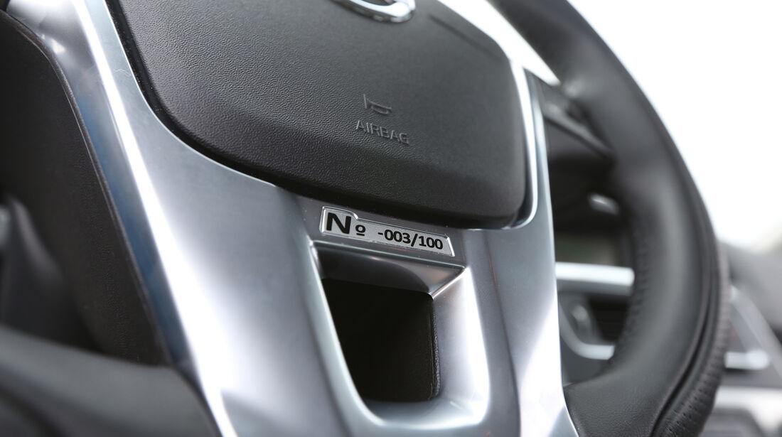 Volvo S60 T6 Polestar, Lenkrad, Detail