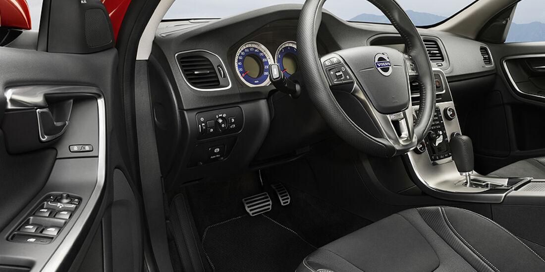 Volvo S60 Volvo V60 R-Design, Innenraum, Sitze