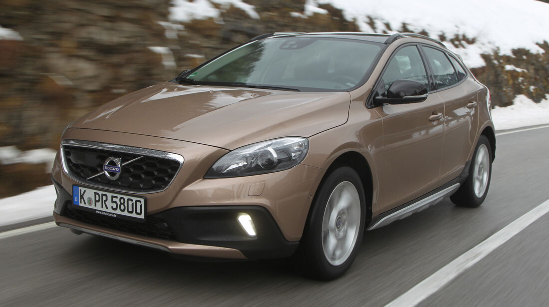 Volvo V40 Cross Country, Frontansicht