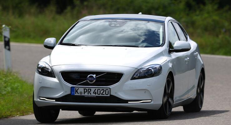 Volvo V40 D4 Summum, Frontansicht
