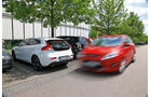 Volvo V40 D4 Summum, Parkplatz