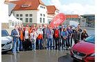 Volvo V40, Teilnehmer, Gruppenbild