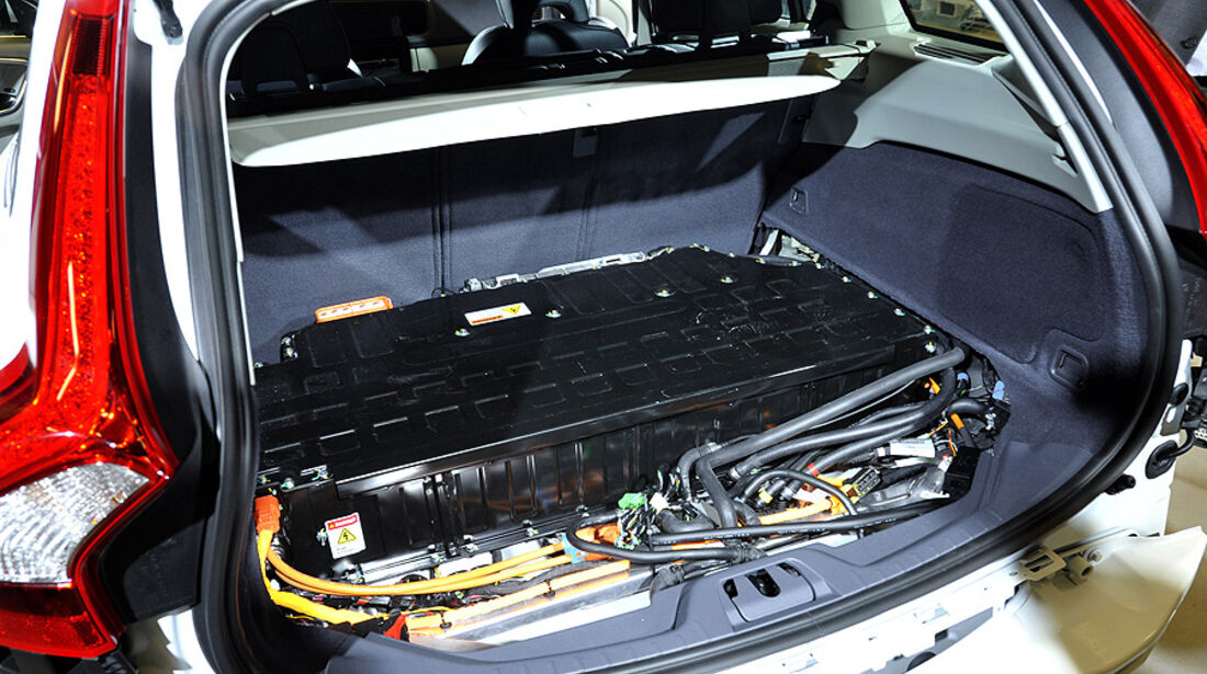 Volvo V60 Diesel-Plug-in-Hybrid, Lithium-Ionen-Batterie