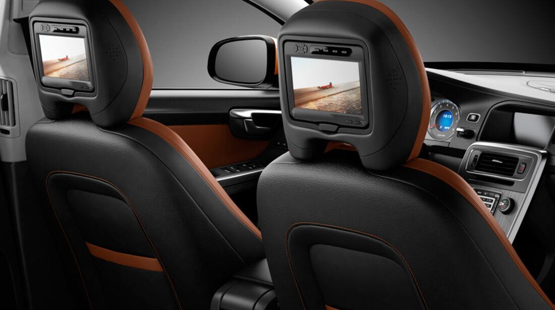 Volvo V60, Kopfstütze, Bildschirm, Innenraum