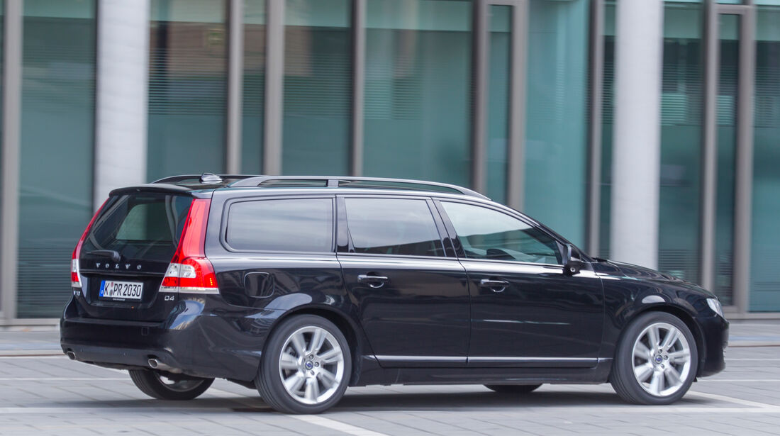 Volvo V70 D4, Seitenansicht