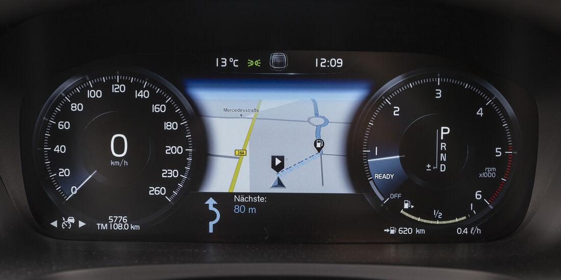 Volvo V90 D3 AWD, Interieur, Navi