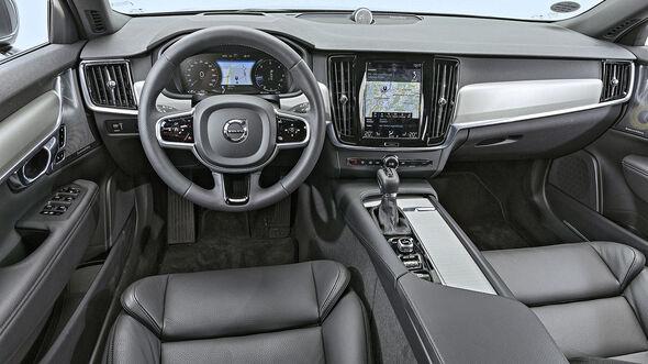 Volvo V90 D3 AWD, Interieur
