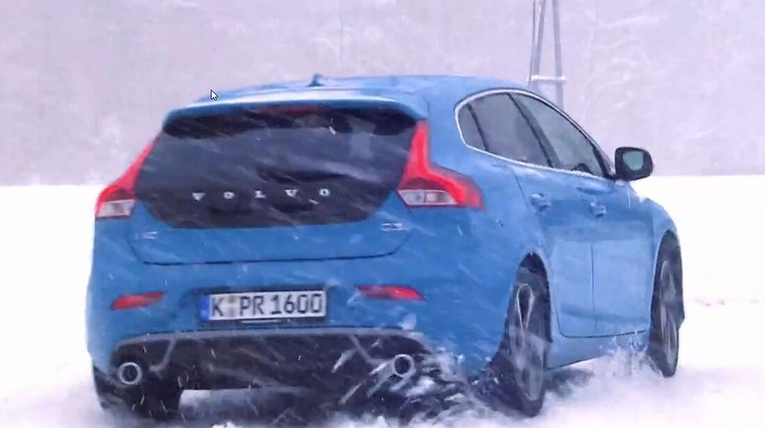 Volvo Winter-testdrive Screenshot