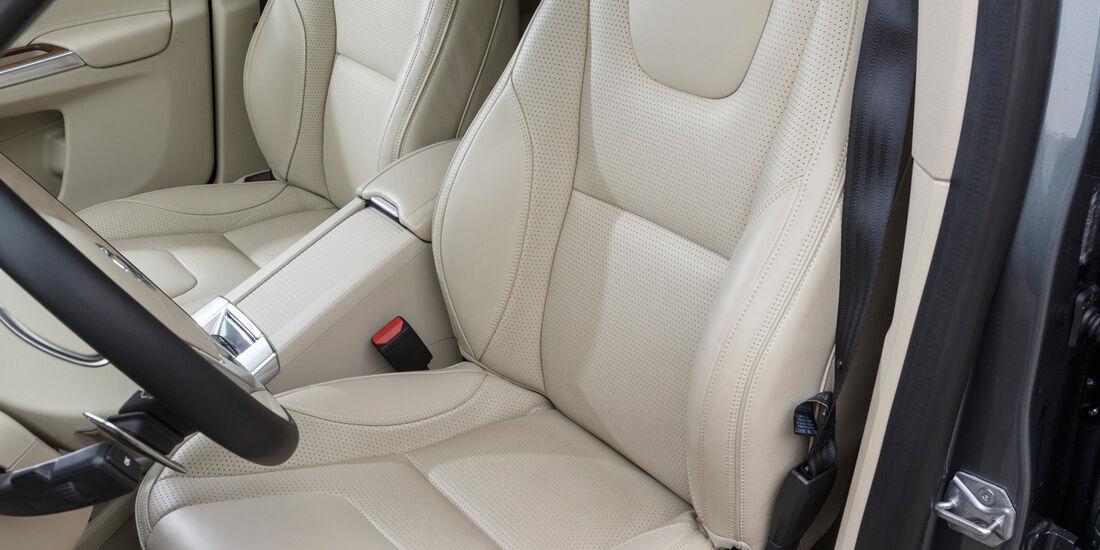 Volvo XC60 D5, Fahrersitz