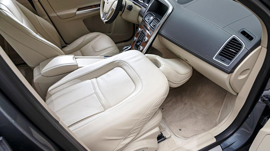 Volvo XC60 D5, Sitze