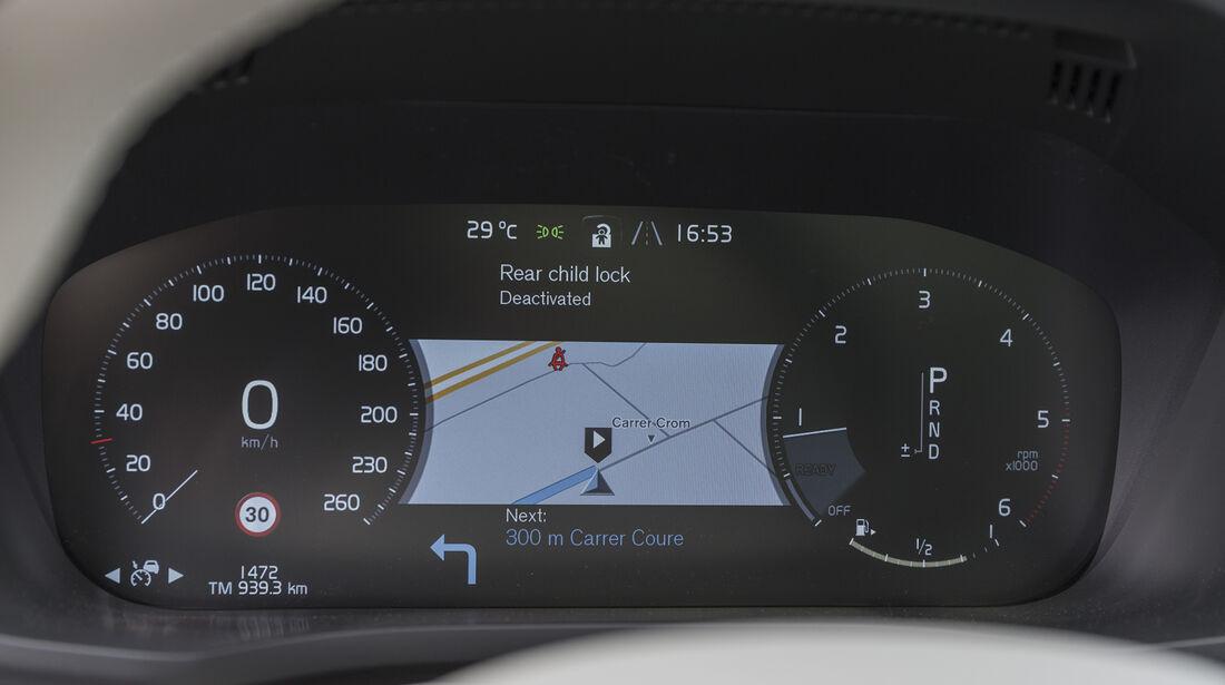 Volvo XC60 Inteieur Details