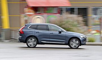 Volvo XC60 T8 Hybrid, Exterieur Seite