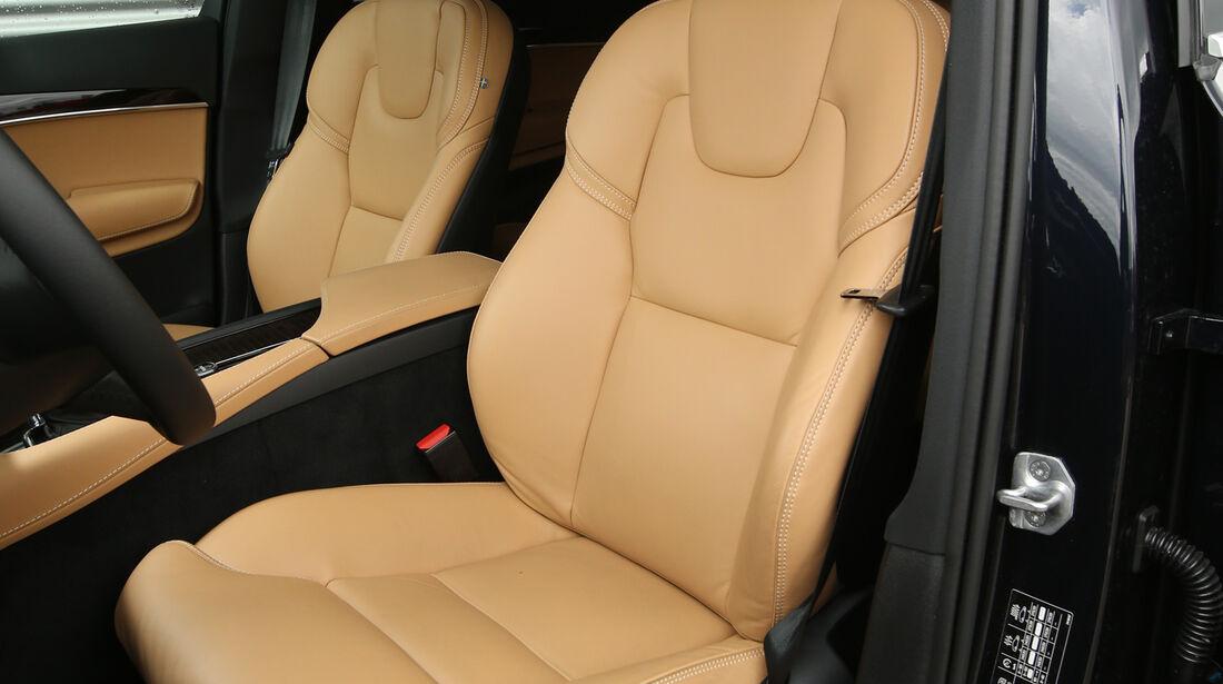 Volvo XC90 D5, Fahrersitz