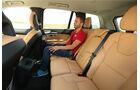 Volvo XC90 D5, Fondsitz, Beinfreiheit