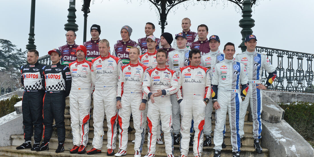 WRC Fahrer  Rallye Monte Carlo 2013
