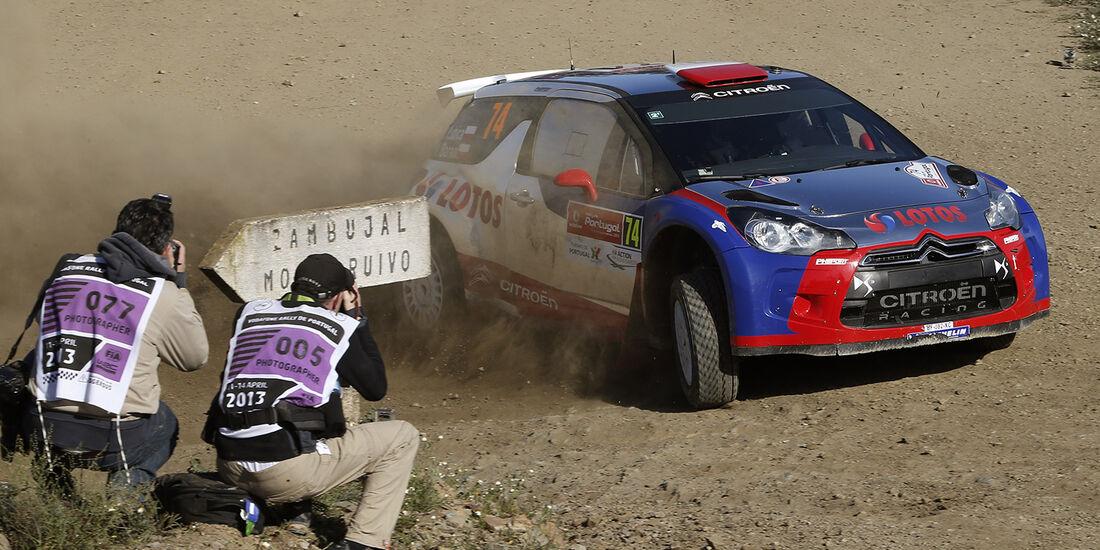 WRC Portugal 2013, Tag 2, Kubica