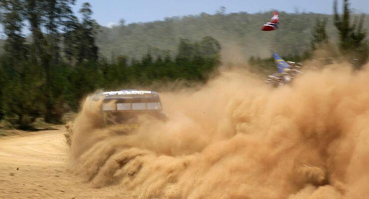 WRC Rallye Australien 2006 Petter Solberg Subaru