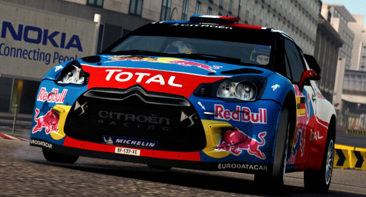 WRC2 Game Rennspiel 2011 Screenshot