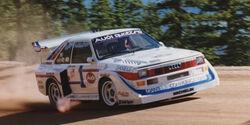 Walter Röhrl - Audi Sport Quattro - Pikes Peak Hillclimb - Bergrennen