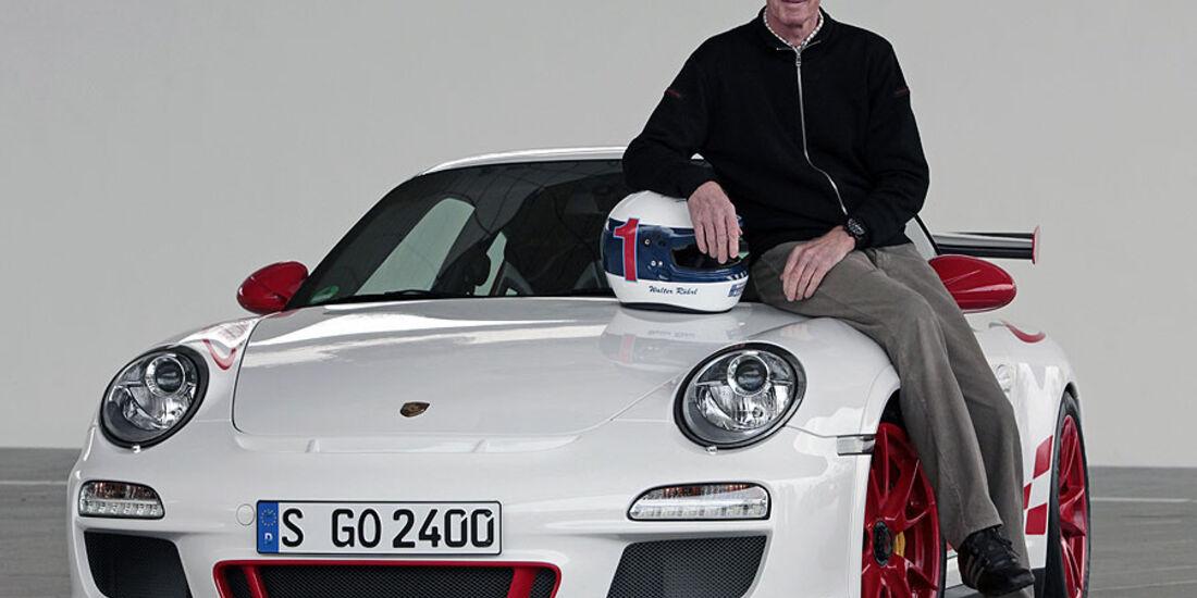 Walter Röhrl  sport auto 24h-Projekt 2010 Porsche GT3 RS