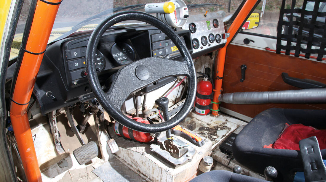 Wartburg, Cockpit, Lenkrad