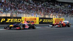 Webber Alonso GP Abu Dhabi 2012