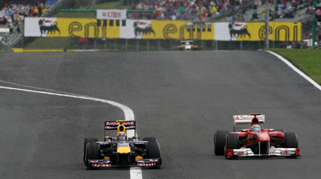 Webber Alonso - GP Ungarn - Formel 1 - 31.7.2011 - Highlights
