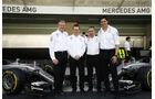 Webber - Cowell - Lowe - Wolff - GP Abu Dhabi 2016 - Formel 1