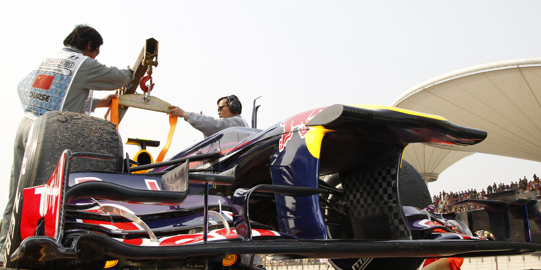 Webber GP China 2013